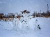 Дятьково. Семья снеговиков (фото Натальи Шкроб)