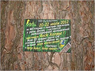 Музыкальный open-air «Рок Холмы-2012» открывается под параноидальным присмотром брянской полиции