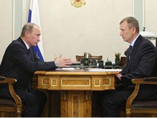 Губернатор Брянщины встретился с Президентом России