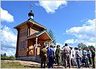 На месте боёв в Жуковском районе воздвигнута часовня Николая Угодника