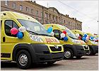 В Брянске торжественно вручены ключи от 25 новых школьных автобусов