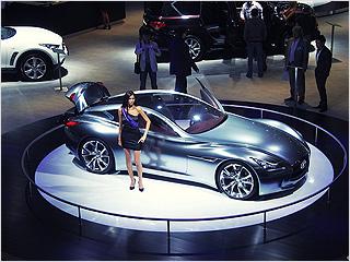 Для журналистов открывается Московский Международный Автомобильный Салон'2012 (ММАС'2012)