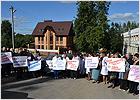 Общественники и жители выступили в поддержку сквера рядом с кардиодиспансером