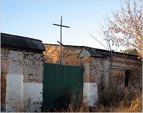 В Белобережской пустыни за лето будет построен новый храм