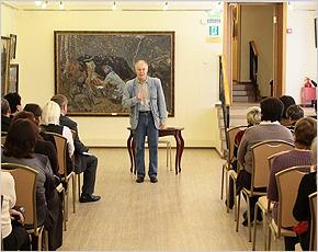 Владимир  Конкин в Брянске: «Вы, учителя, — Дон Кихоты»