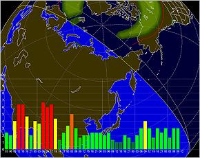 Прогноз геомагнитной обстановки на 6 января