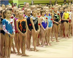 В Брянске проходят всероссийские соревнования по спортивной гимнастике