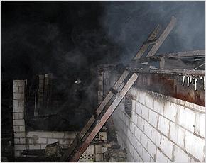МЧС сообщает: в среду в Брянской области горели 5 домов и деревянный сарай