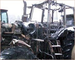 МЧС сообщает: в понедельник в Брянской области произошло 10 пожаров