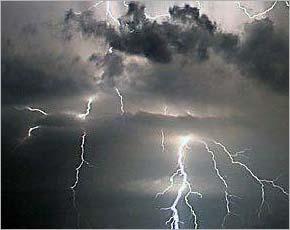 Прогноз погоды на 28 апреля: небольшие и умеренные дожди с грозами, до +16