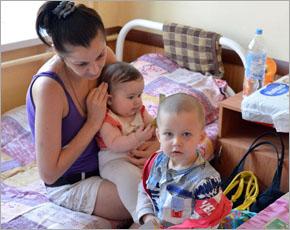 В Курской области открылся 9-й пункт временного размещения беженцев