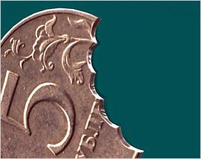 ЦБ России рассказал о случаях подделки пятирублевых монет