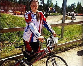Татьяна Капитанова за две недели завоевала две «бронзы» крупных соревнований по BMX