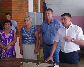Команда «Единой России» пообщалась с карачевскими избирателями