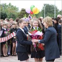 Школьников с Днём знаний лично поздравили руководители Брянска и депутаты (фотогалерея)