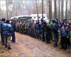 Лесной массив в районе Пятилетки прочёсывают 1,1 тыс. человек