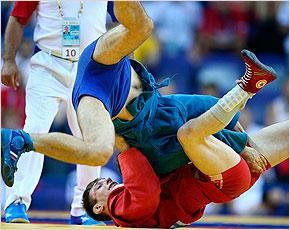 Артём Осипенко стал чемпионом мира по самбо