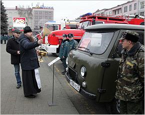 Лесопожарная служба Брянской области получила семь новых автомобилей