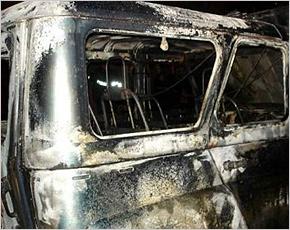 МЧС сообщает: за один день горели три автомобиля