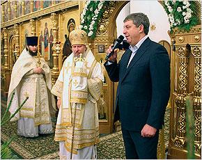 Александр Богомаз призвал в Рождество помолиться за братьев-славян