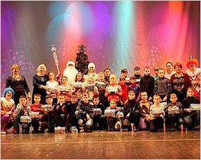 Дети из Луганска приехали на зимние каникулы в Брянск