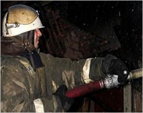 МЧС сообщает: в Фокино сгорел ларёк. Вслед за Брянском