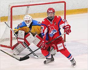 «Брянск» проиграл молодёжке «Локо», но вернулся в зону плей-офф