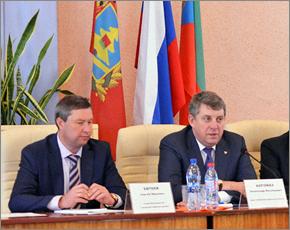 Глава региона презентовал в Клинцах нового мэра