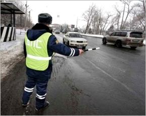 На Крещение в Унечском районе — сплошные проверки на дорогах