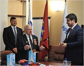 «Брянскэнерго» организовало встречу московских и брянских ветеранов Великой Отечественной войны