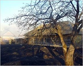 МЧС сообщает: в понедельник в регионе произошло 11 пожаров