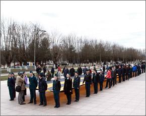 В Брянске стартовала акция «Георгиевская ленточка» (ФОТО)