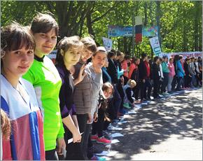 В брянском этапе «Российского азимута» на старт вышли более 600 человек (ФОТО)