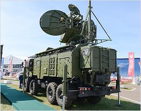 Комплексы радиоэлектронной борьбы брянского производства экспонируются на МАКС-2015