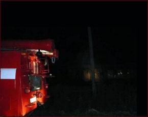 ГУ МЧС сообщает: ночью в Брянске горело здание стройфирмы «Комфорт»
