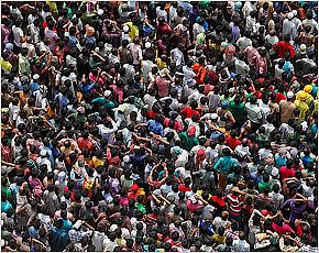 Население Земли в первый день 2016 года составило почти 7,3 млрд. человек