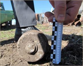 Боеприпасы 70-летней давности «всплывали» в двух районах Брянской области за день