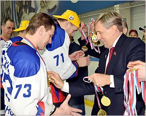 Брянская «Виктория» всухую выиграла финальную серию чемпионата области по хоккею