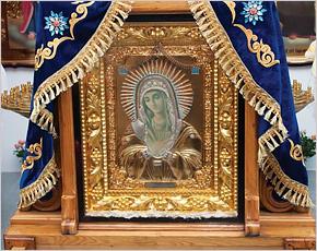 В Ростов принесена брянская чудотворная икона XXI века