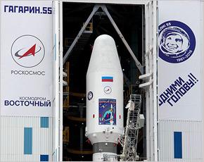 Первый старт с космодрома Восточный перенесён на сутки