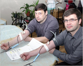 В «День донора» в «Брянскэнерго» кровь сдали более 100 человек
