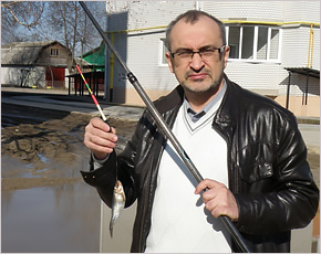 У журналиста из Дятьково Игоря Статычнюка ночью неизвестные сожгли машину