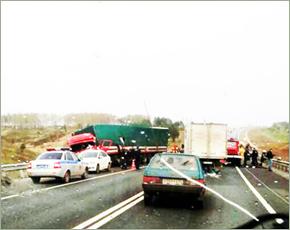 В дорожной аварии с фурой и трактором под Выгоничами есть жертва — ГИБДД