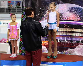 Юная брянская фигуристка Елизавета Павлова завоевала «золото» в Минске