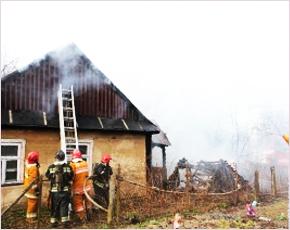 МЧС сообщает: в четверг в регионе горело сразу три дома