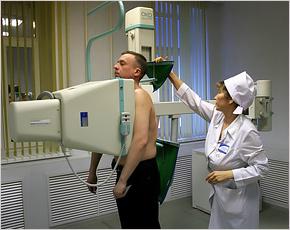 В новозыбковской больнице сломался аппарат для флюорографии