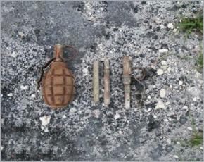 Боеприпасы времён войны обезврежены в Погарском районе и Новозыбкове