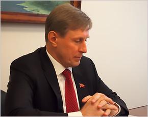 Виктор Гринкевич: «У депутата Госдумы должно быть стратегическое мышление»