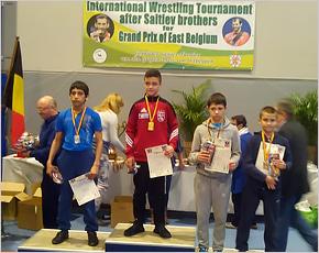 Борец из Стародуба стал бронзовым призёром международного турнира в Бельгии