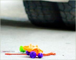 В Брянске автоледи покалечила трёхлетнего ребёнка в ДТП с учебной машиной